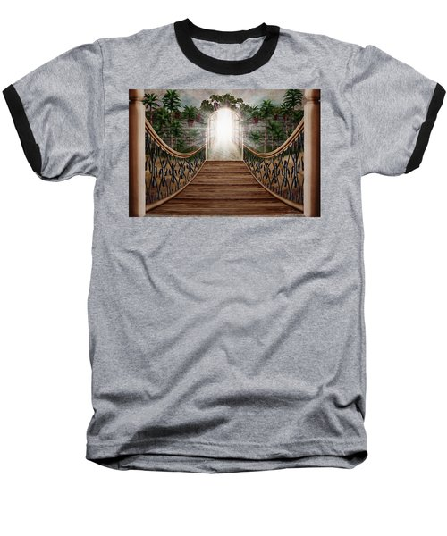 The Way And The Gate Baseball T-Shirt