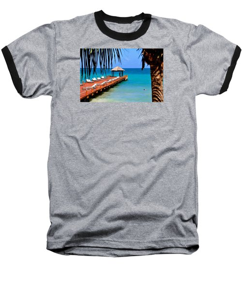 Baseball T-Shirt featuring the photograph The Wedding Embrace by Kicking Bear  Productions