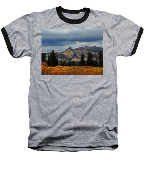 Baseball T-Shirt featuring the photograph The Wedge by Raymond Salani III