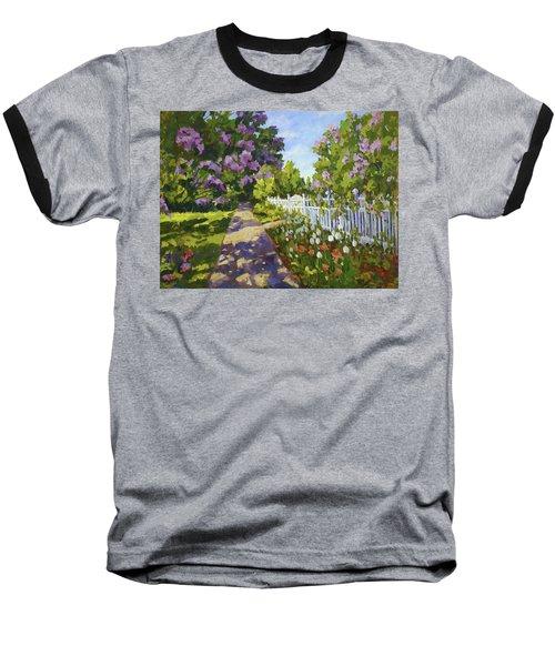 The White Fence Baseball T-Shirt