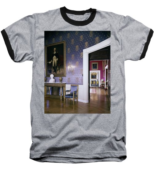The White House Blue Room Baseball T-Shirt