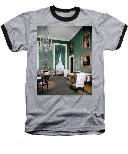 The White House Green Room Baseball T-Shirt