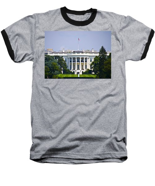 The Whitehouse - Washington Dc Baseball T-Shirt