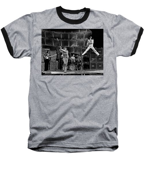 The Who - A Pencil Study - Designed By Doc Braham Baseball T-Shirt