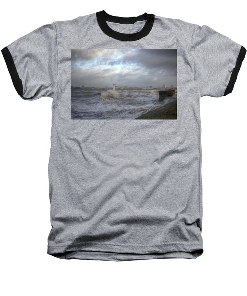 The Wild Mersey 2 Baseball T-Shirt by Spikey Mouse Photography