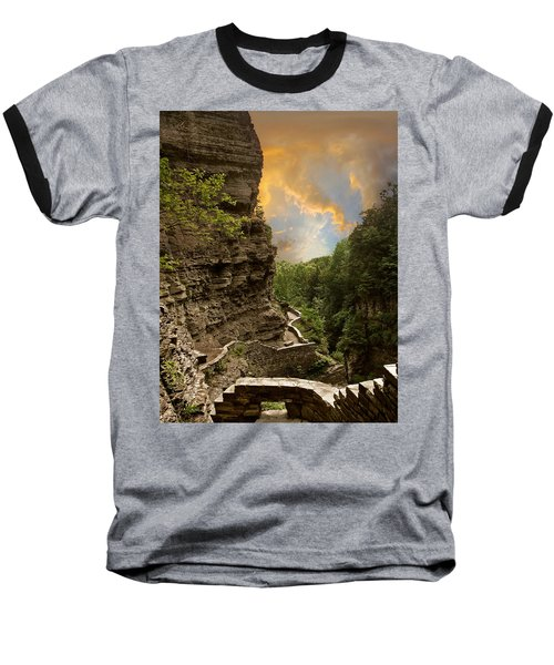The Winding Trail Baseball T-Shirt