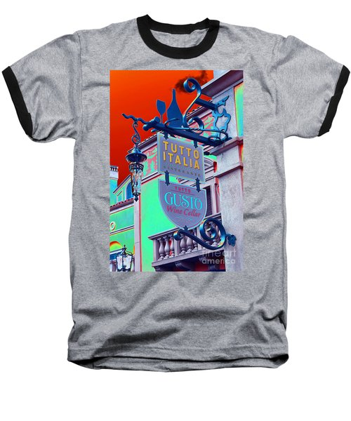 Baseball T-Shirt featuring the photograph The Wine Cellar II by Robert Meanor