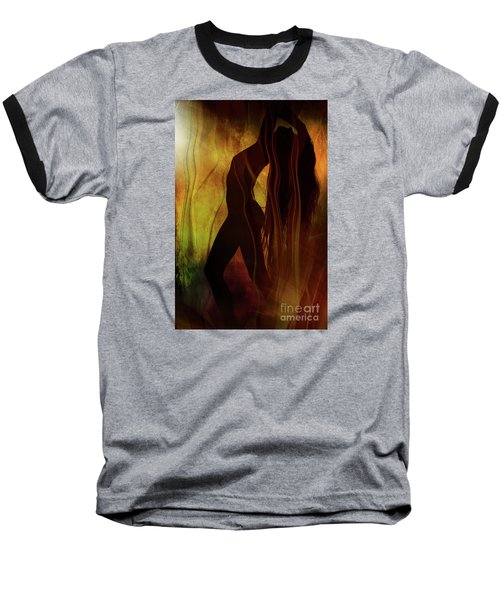 The Witches Dance... Baseball T-Shirt by Nina Stavlund