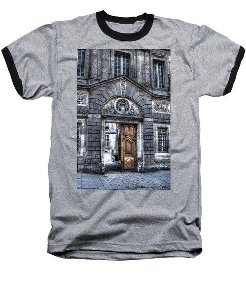 The Wooden Door Baseball T-Shirt