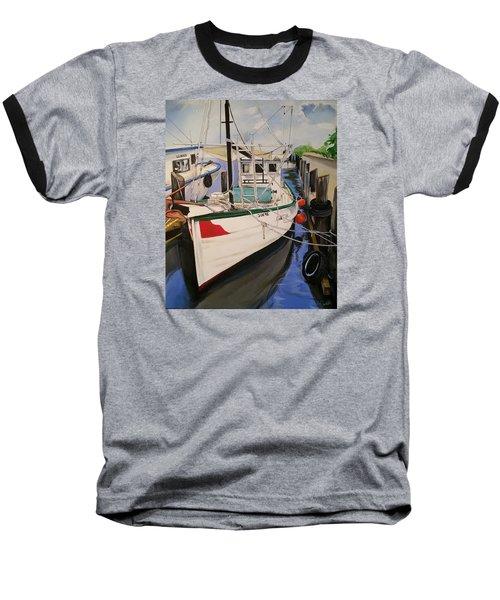 The Wooden Work Boats Baseball T-Shirt