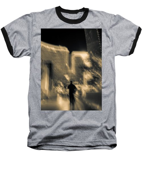 Baseball T-Shirt featuring the photograph The World Is My Oyster by Alex Lapidus