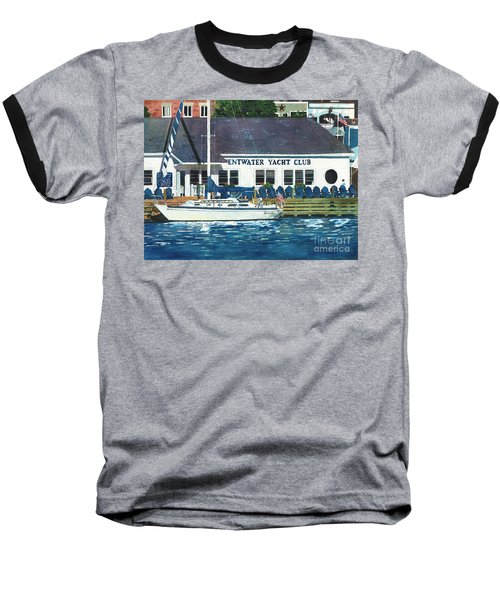 The Yacht Club Baseball T-Shirt by LeAnne Sowa