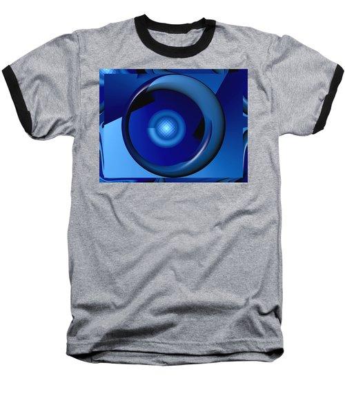 Thinking Of Blue Baseball T-Shirt