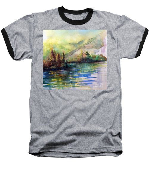 Baseball T-Shirt featuring the painting Thinking Of Sargent by Allison Ashton