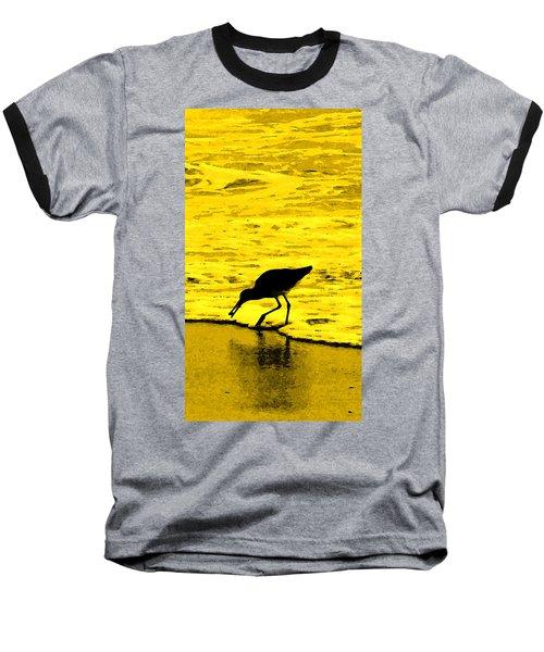 Baseball T-Shirt featuring the photograph This Beach Belongs To Me by Ian  MacDonald