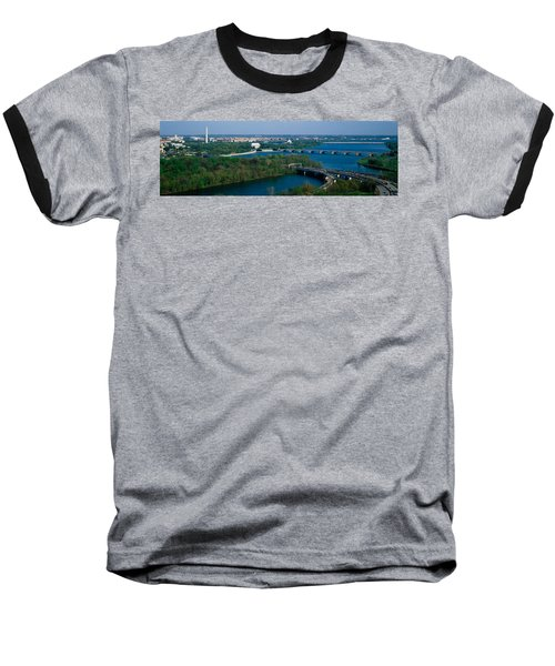 This Is An Aerial View Of Washington Baseball T-Shirt by Panoramic Images