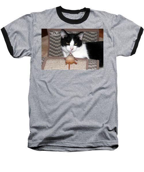 This Is My Mouse Baseball T-Shirt by Laurel Talabere