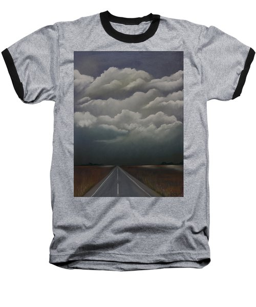 This Menacing Sky Baseball T-Shirt