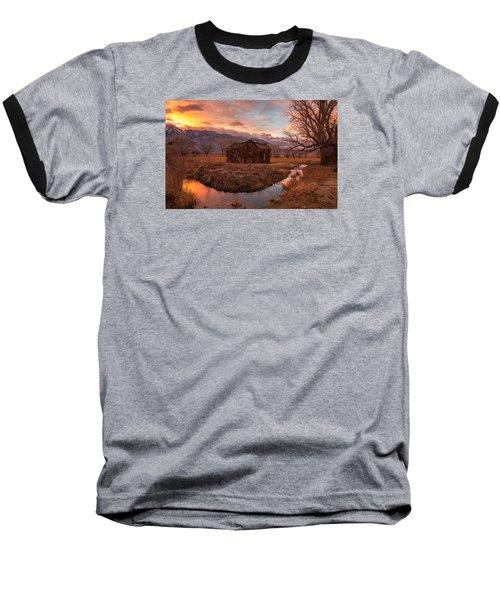 This Old House Baseball T-Shirt by Tassanee Angiolillo