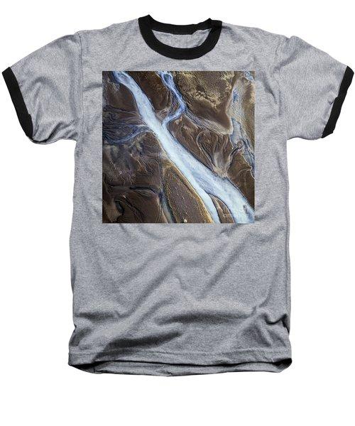 Baseball T-Shirt featuring the photograph Thjosa by Gunnar Orn Arnason