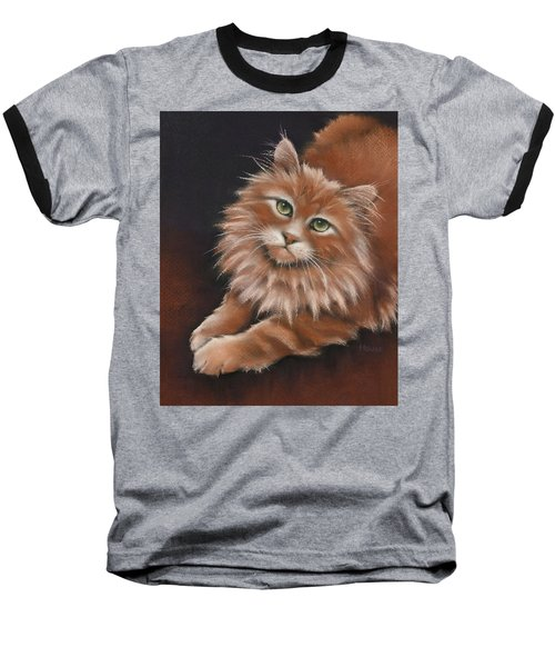 Baseball T-Shirt featuring the drawing Thomas by Cynthia House