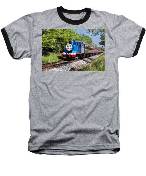 Thomas Visits The Cvnp Baseball T-Shirt