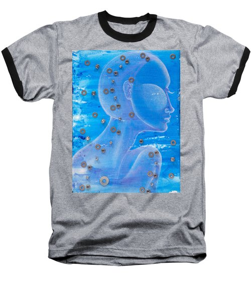 Thought Baseball T-Shirt by Sheridan Furrer