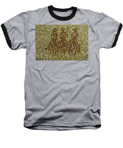 Baseball T-Shirt featuring the painting Amigos by Kurt Olson