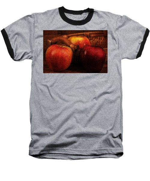 Three Apples Baseball T-Shirt