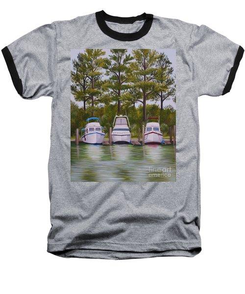 Three Boats Baseball T-Shirt