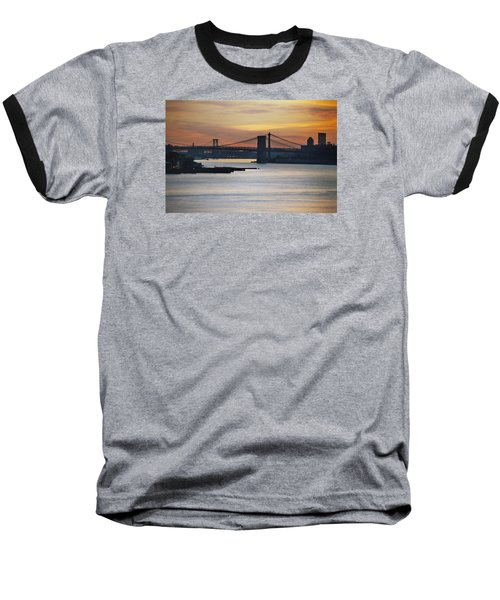 Three Bridges Baseball T-Shirt by John Schneider