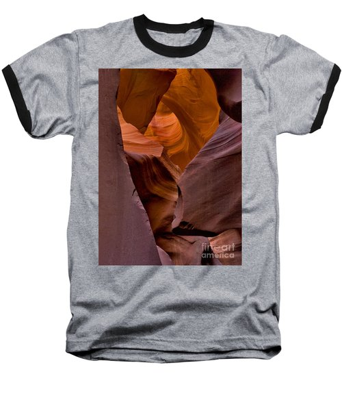 Baseball T-Shirt featuring the photograph Three Faces In Sandstone by Mae Wertz