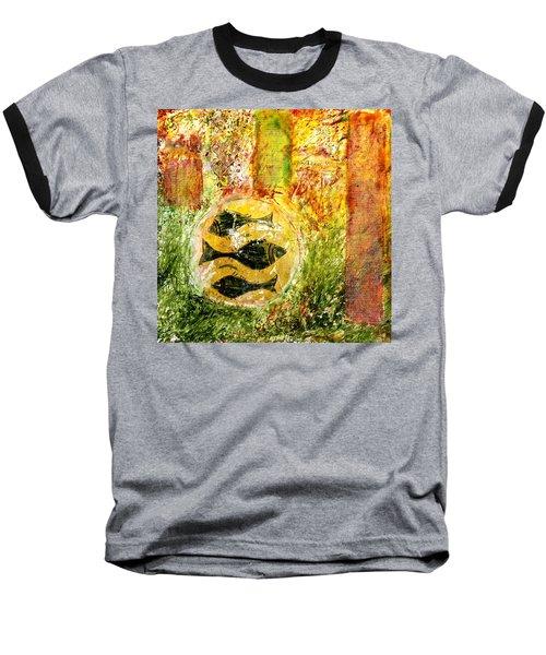 Three Fishes Baseball T-Shirt