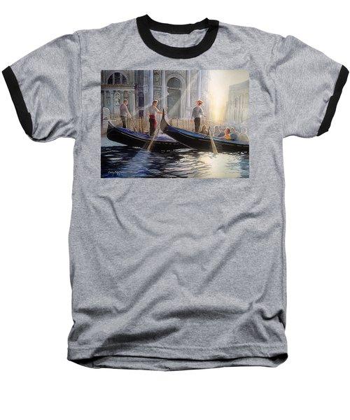 Three Gondoliers Baseball T-Shirt