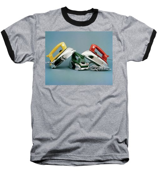 Three Irons By Casco Products Baseball T-Shirt