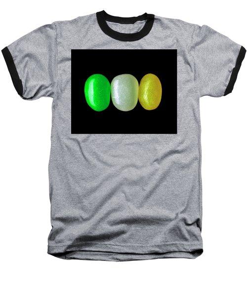 Three Jelly Beans Baseball T-Shirt