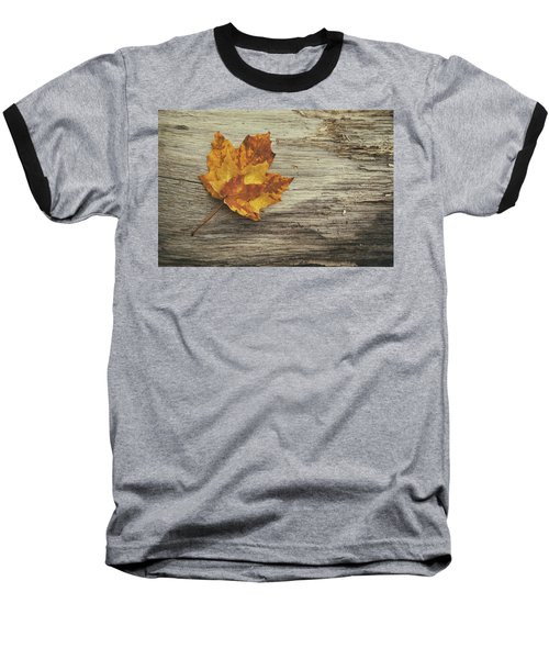 Three Leaves Baseball T-Shirt
