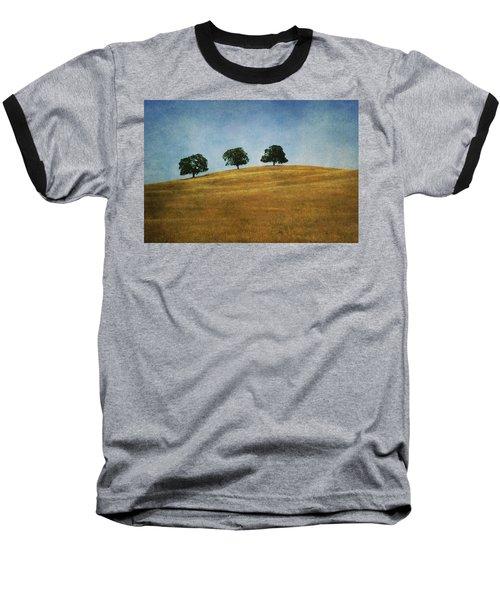 Three On A Hill Baseball T-Shirt