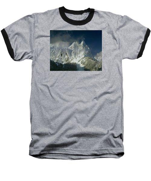 1m4503-three Peaks Of Mt. Index Baseball T-Shirt