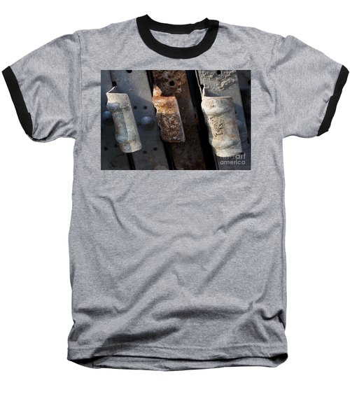 Three Shades Of Rust Baseball T-Shirt