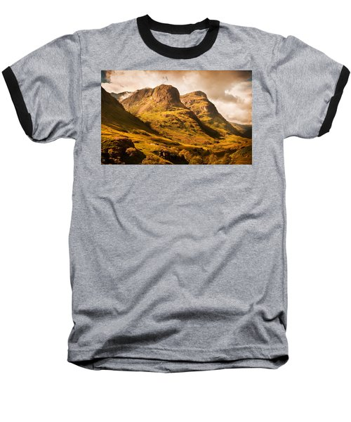 Three Sisters. Glencoe. Scotland Baseball T-Shirt