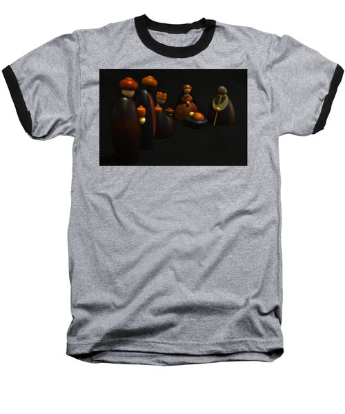 Three Wise Men Baseball T-Shirt