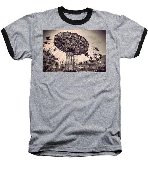 Thrill Rides Baseball T-Shirt