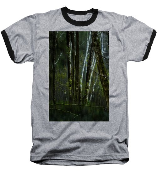 Baseball T-Shirt featuring the photograph Through A Glass . . . Darkly by Belinda Greb