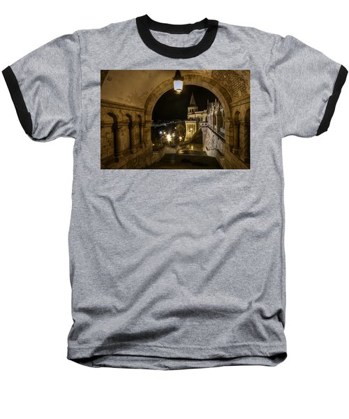 Through The Arch Baseball T-Shirt by Nathan Wright