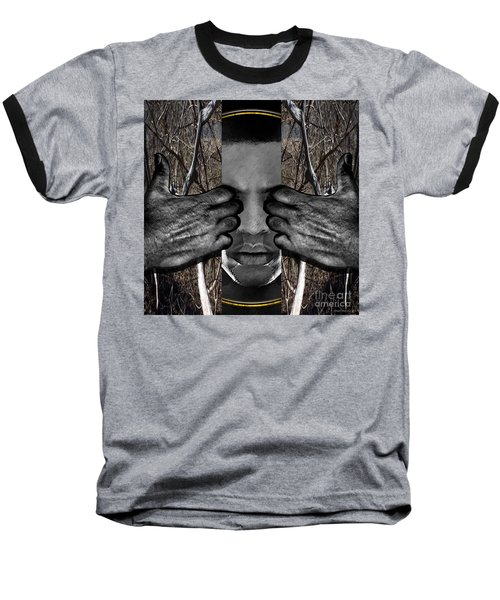 Through The Circle Of Life Baseball T-Shirt