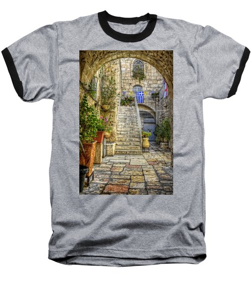 Through The Doorway Baseball T-Shirt