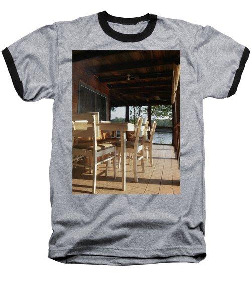 Through The Screen No 1 Baseball T-Shirt