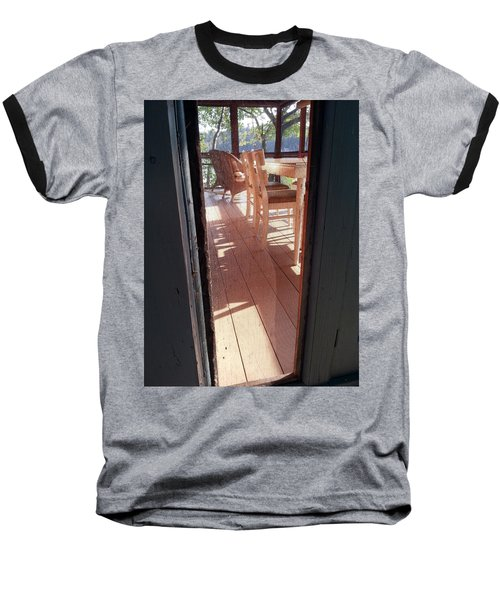 Through The Screen No 2 Baseball T-Shirt
