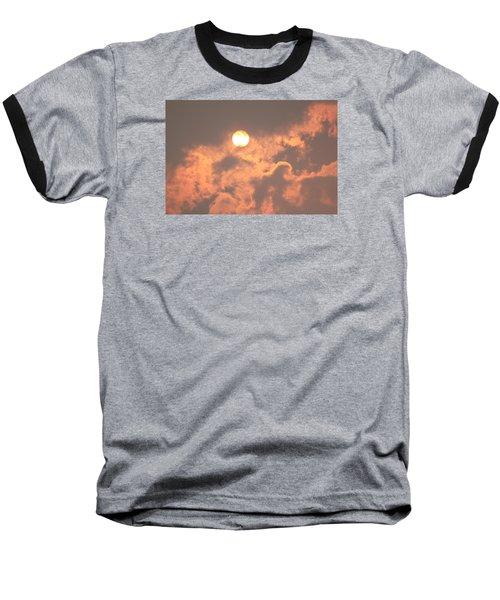 Through The Smoke Baseball T-Shirt